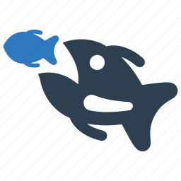 business, fish, strategy icon
