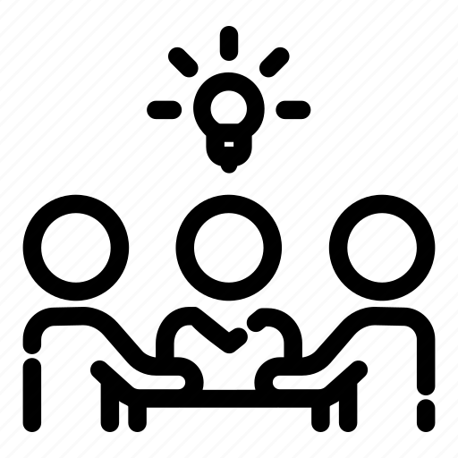 business, company, idea, management, meeting, office, teamwork icon