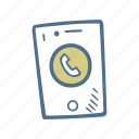 business, finance, phone, phone call icon