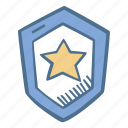 business, finance, secure, security, shield, star