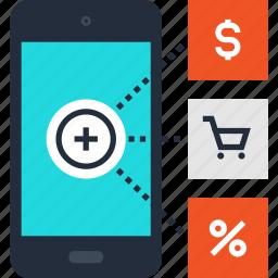 advertising, communication, marketing, media, mobile, phone, promotion icon