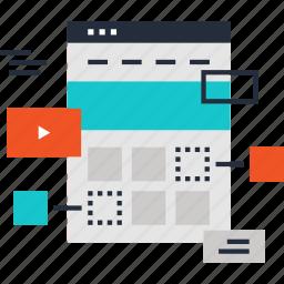 banner, design, development, page, site, web, website icon