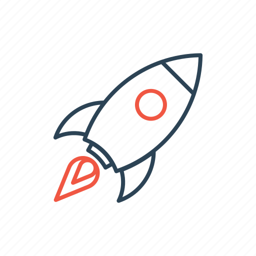 business, launch, launching, rocket, spaceship, start, startup icon