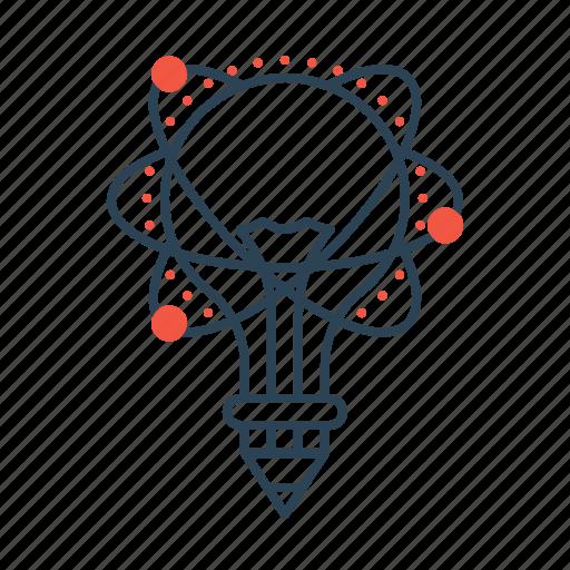 brainstorm, bulb, business, idea, innovation, light, lightbulb icon