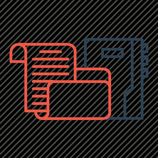 cv, files, folder, portfolio, projects, resume icon