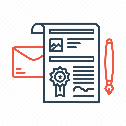 agreement, contract, job, letter, offer, recruitment icon