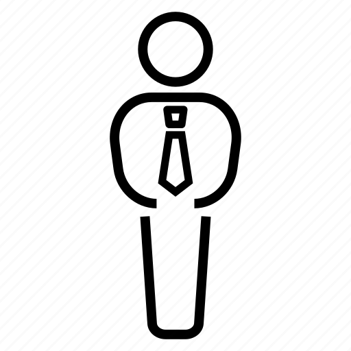 business, businessman, leader, tie icon