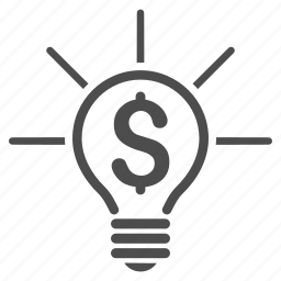bulb, electric, electricity, idea, lamp, light, power icon