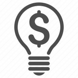 bulb, copyright, legal, license, patent, protection, right icon