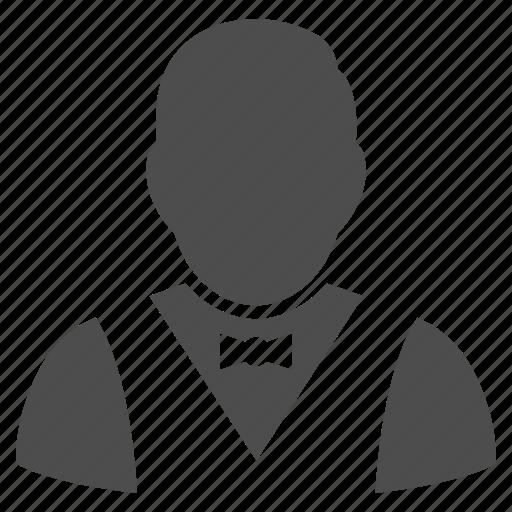 chef, flunky, garcon, restaurant service, staff, steward, waiter icon