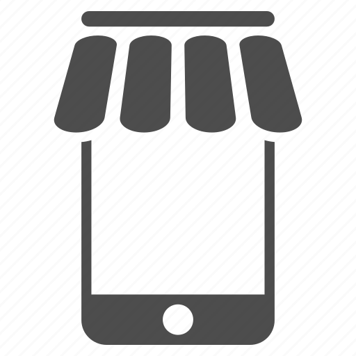 business, market, mobile, store, web shop, webshop, webstore icon