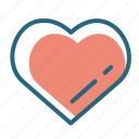 heart, kindness, love, medicine icon