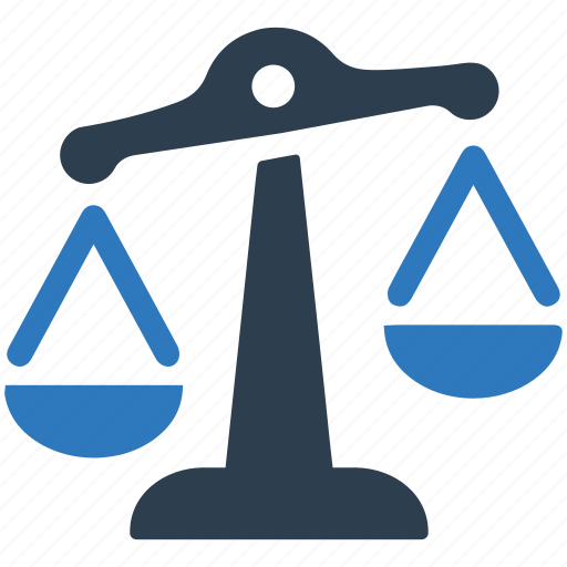balance, choice, decision, justice, law, scales icon