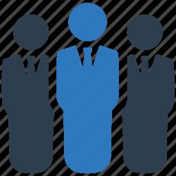 business, businessman, leader, leadership, manager, team, teamwork icon
