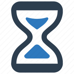 clock, deadline, hourglass, timer icon