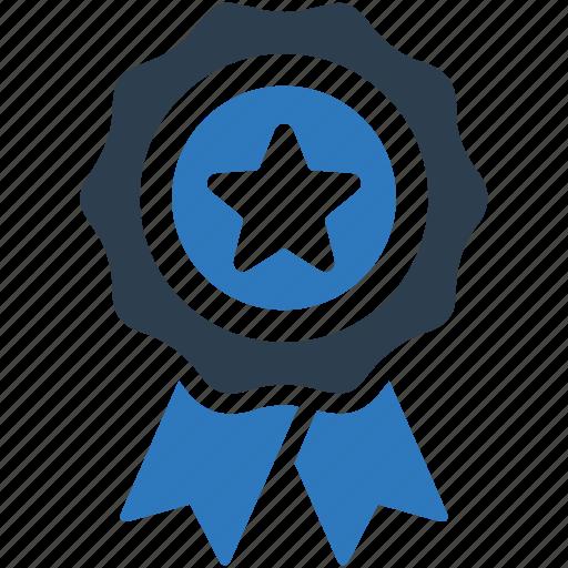 Achievement, award, best quality, ribbon icon | Icon ...