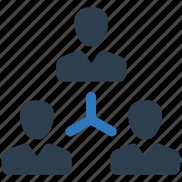 business, businessman, management, office, team, teamwork icon