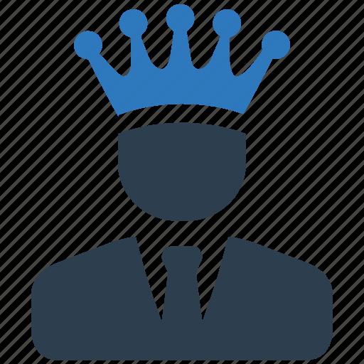 business, leader, success, winner icon