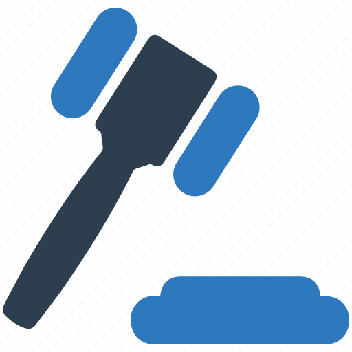 auction, bid, gavel, justice, law, legal, mallet icon
