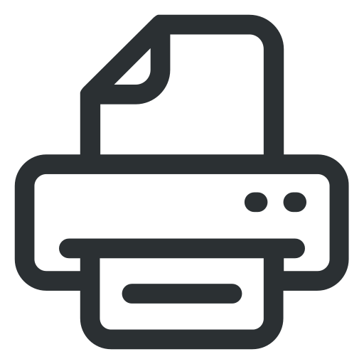 office, print, printer, strationery icon icon