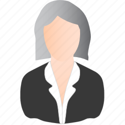 business, old, woman icon