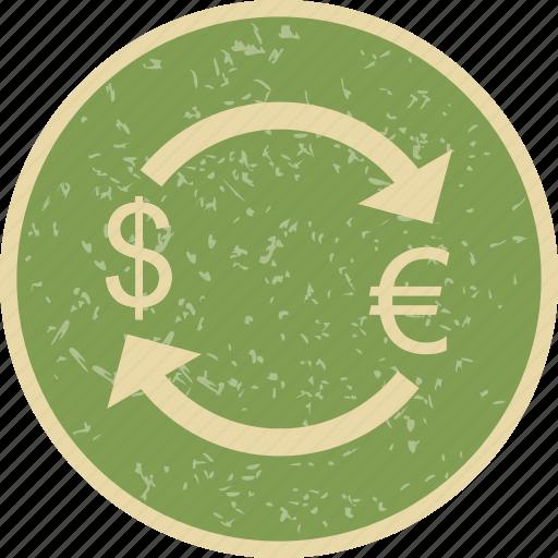 convert, dollar, euro, exchange icon
