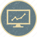 business, market, presentation, stock icon