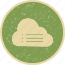 cloud, data, server, storage icon