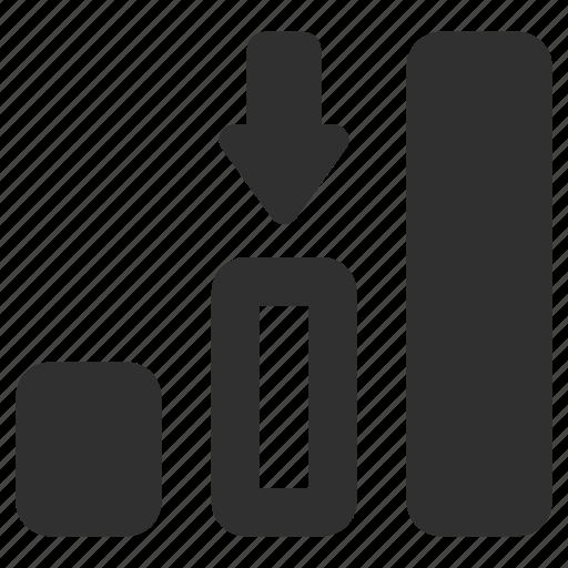 chart, graph, progress, progress bar, progress chart icon
