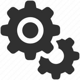 business gears, cogs, cogwheel, gears, performance, productivity, settings icon