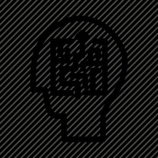 brain, business, finance, mind, productivity, strategy, tactics icon