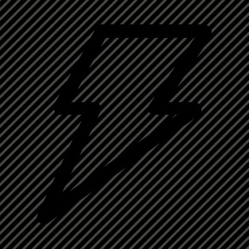 bolt, business, flash, growth, lightning, speed, thunder icon