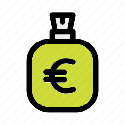 bag, bank, business, currency, euro, finace, money icon