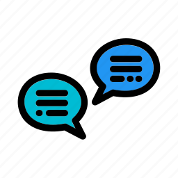 bubble, business, chat, conversation, discussion, message, speech icon