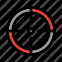 aim, business, finance, focus, shooting, sniper, target