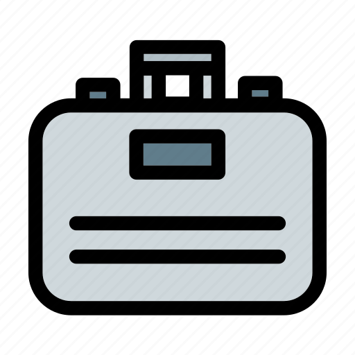 bag, briefcase, business, finance, portfolio, suitcase, travelling icon