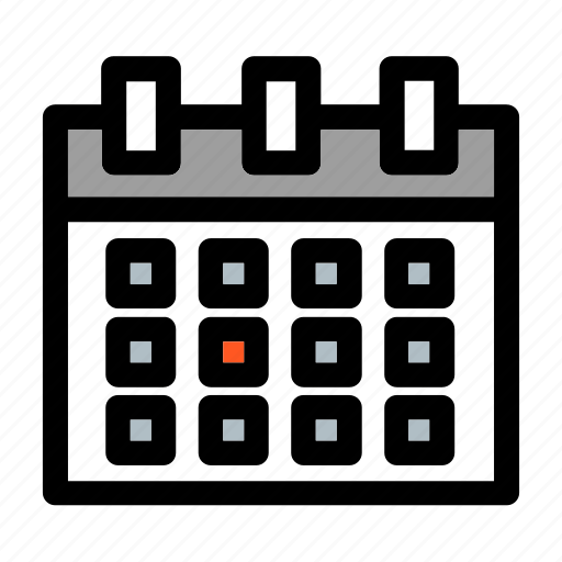 business, calendar, planning, time, wall, weekly icon