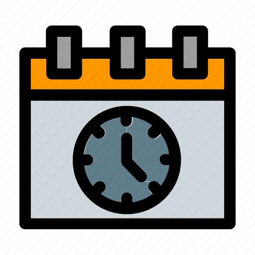 business, clock, dates, hour, planning, time, tool icon