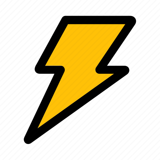 bolt, business, finance, flash, growth, lightning, thunder icon