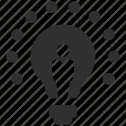 bulb, business concept, business idea, concept idea, idea, innovation, light bulb icon