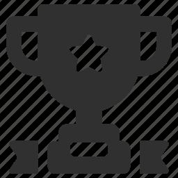 achievement, cup, prize, trophy, trophy cup icon