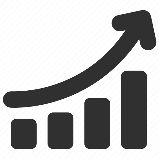 chart, finance, graph, income, increasing, profit, profit chart icon