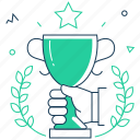 victory, win, cup, award