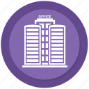 city, downtown, office, town icon