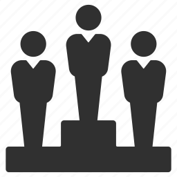 business, business competition, businessmen, competition, contest, leader, podium icon