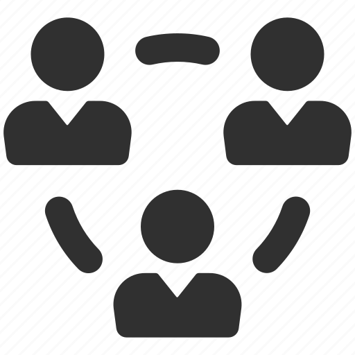 business group, business team, connected, group, group of people, networking, teamwork icon
