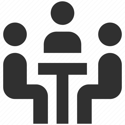 business meeting, conversation, group, group meeting, meeting, meeting spot icon