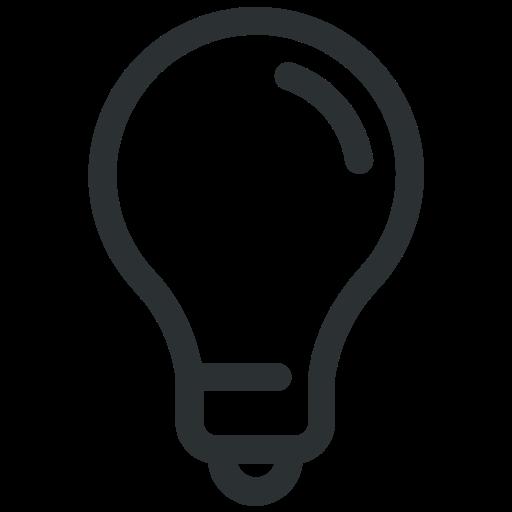 blub, bright, idea, lightbulb, solution icon icon icon
