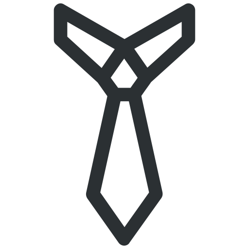 business, clothes, clothing, neck tie, office, tie icon icon