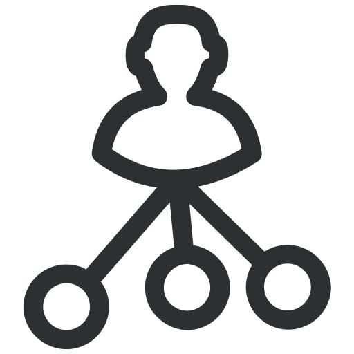 business, conversation, meeting, network icon icon
